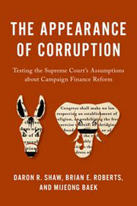 """Book cover for """"The Appearance of Corruption."""""""
